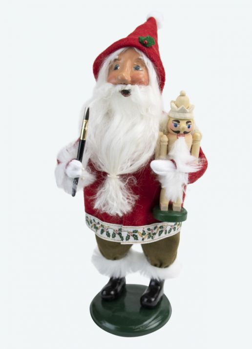 Byers Choice Caroler - Gnome with Nutcracker 2020
