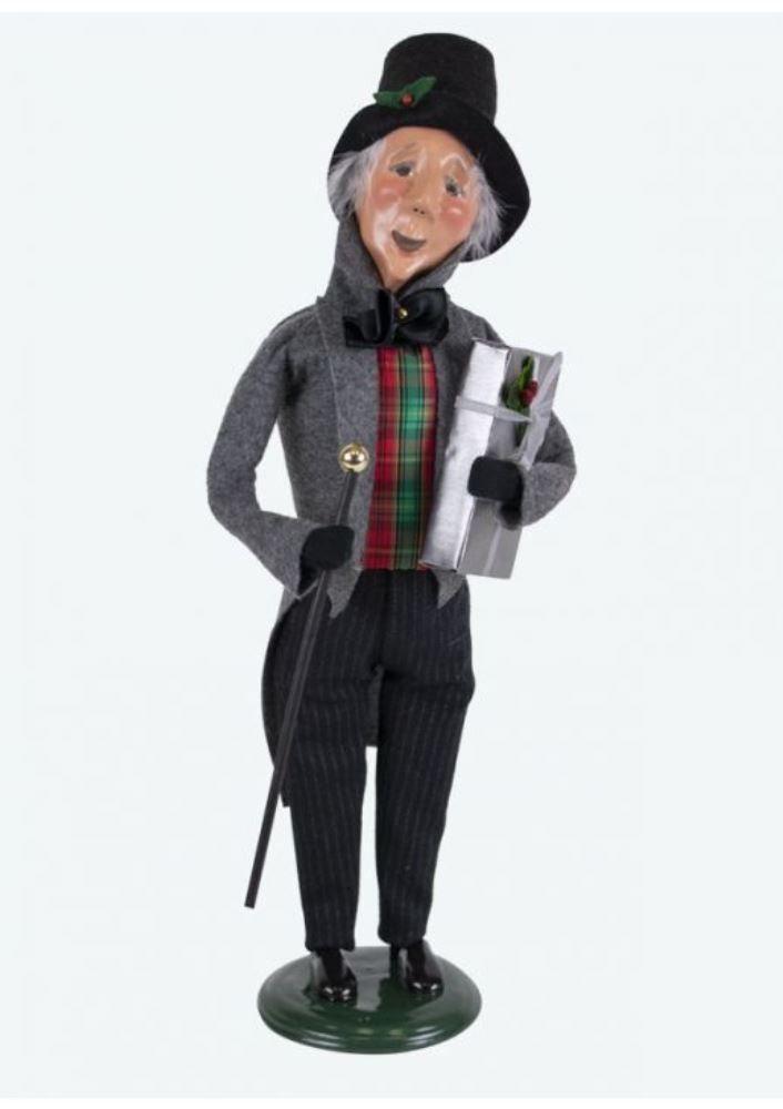 Byers Choice Caroler - Happy Scrooge 2019