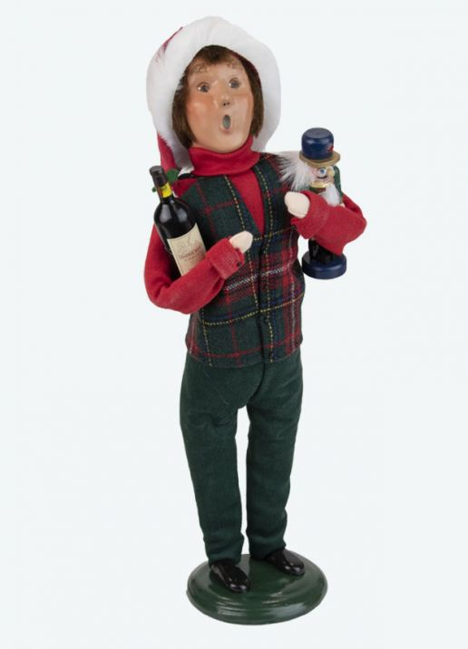 Byers Choice Caroler - Host with Wine 2021