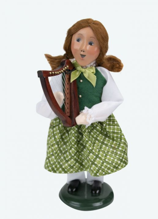Byers Choice Caroler - Irish Lassie 2020