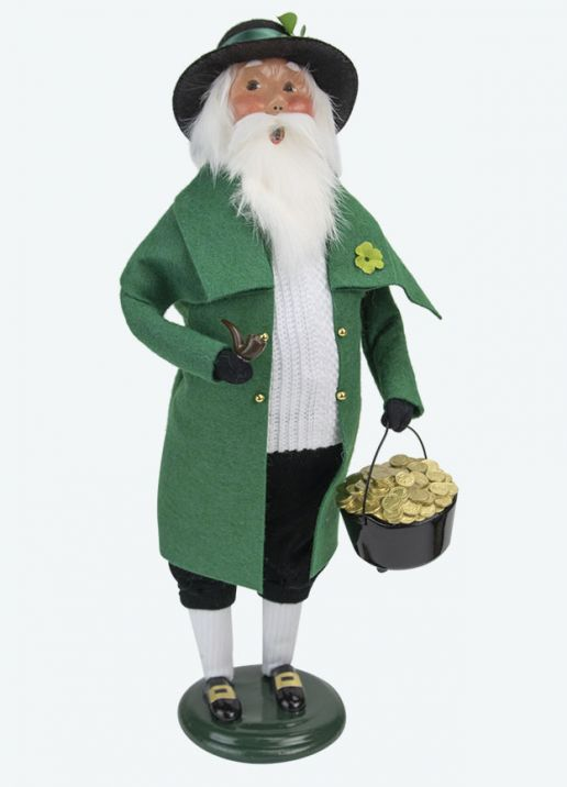 Byers Choice Caroler - Irish Santa 2020