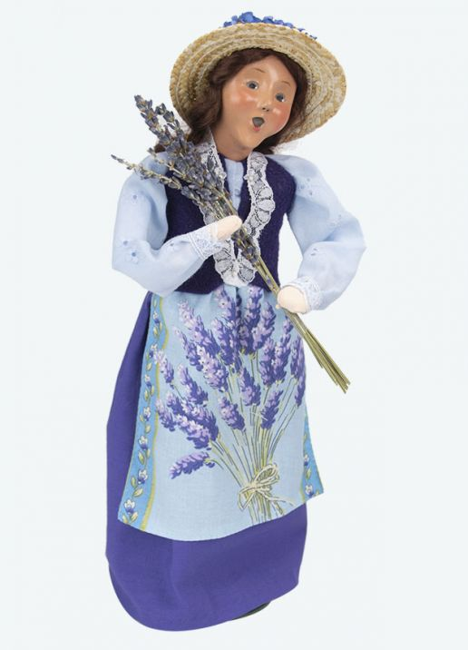 Byers Choice Caroler - Lavender Woman 2020