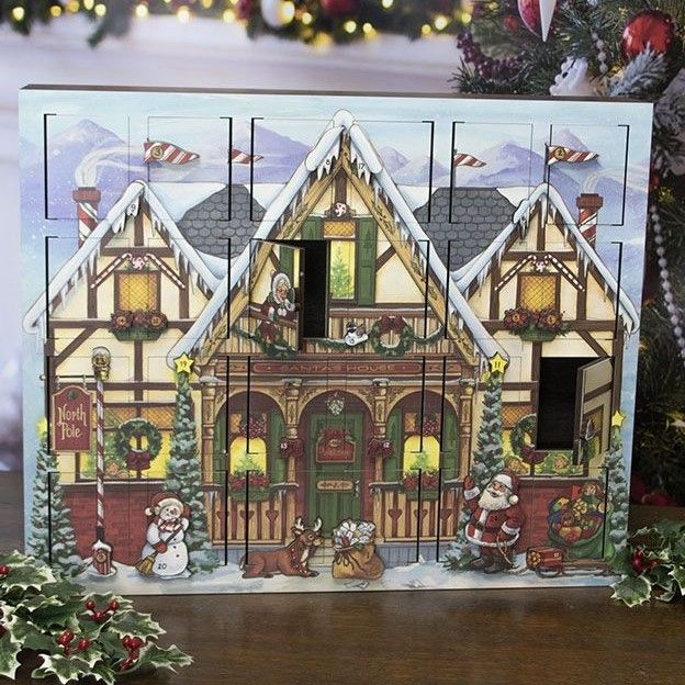Byers Choice Advent Calendar - North Pole Advent Calendar