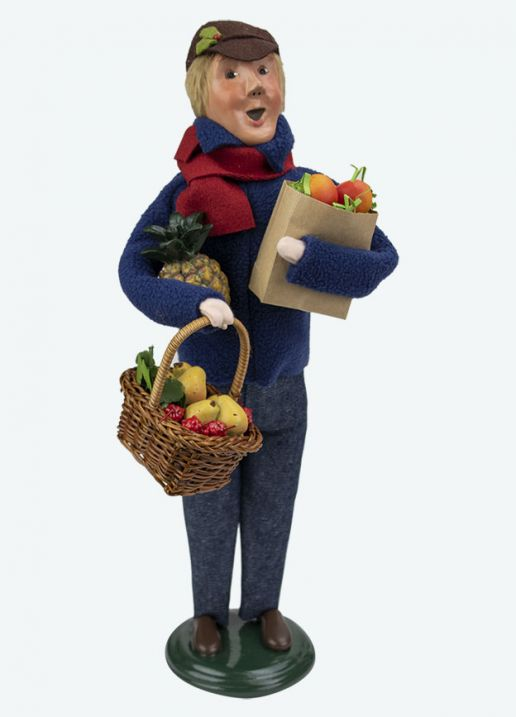 Byers Choice Caroler - Market Family Man 2020