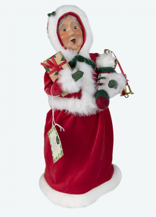Byers Choice Caroler - Message Mrs Claus 2020