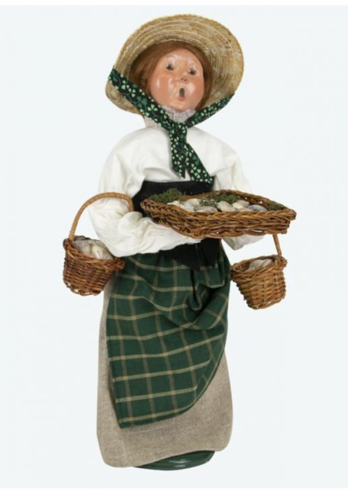 Byers Choice Caroler - Molly Selling Cockles 2019