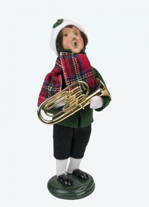 Byers Choice Caroler - Musical Family Boy 2020