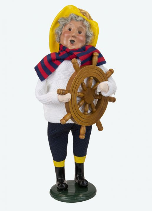 Byers Choice Caroler - Nautical Mrs Claus 2021