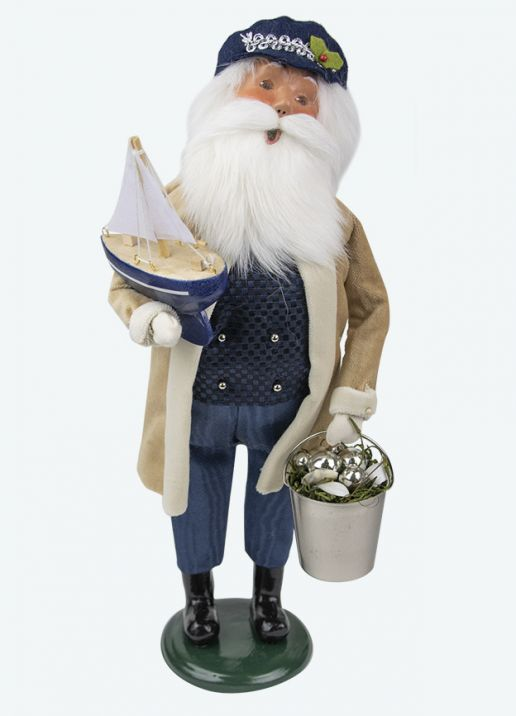 Byers Choice Caroler - Nautical Santa 2020