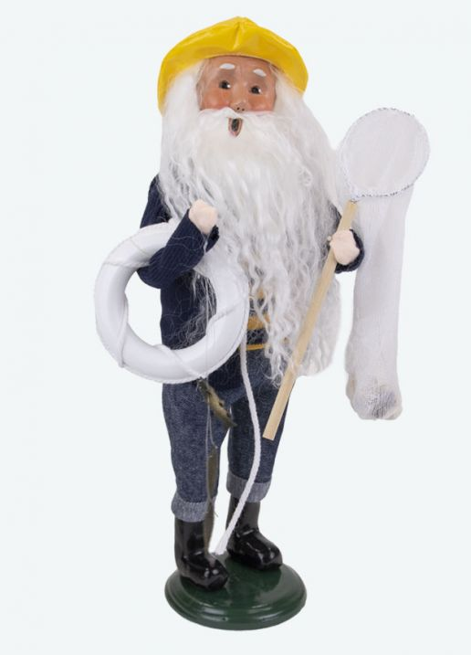Byers Choice Caroler - Nautical Santa 2021