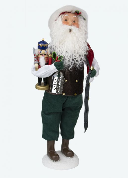 Byers Choice Caroler - Nutcracker Santa 2020