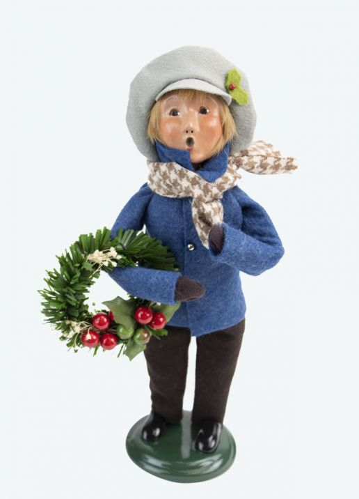 Byers Choice Caroler - Palmer Family Boy 2020
