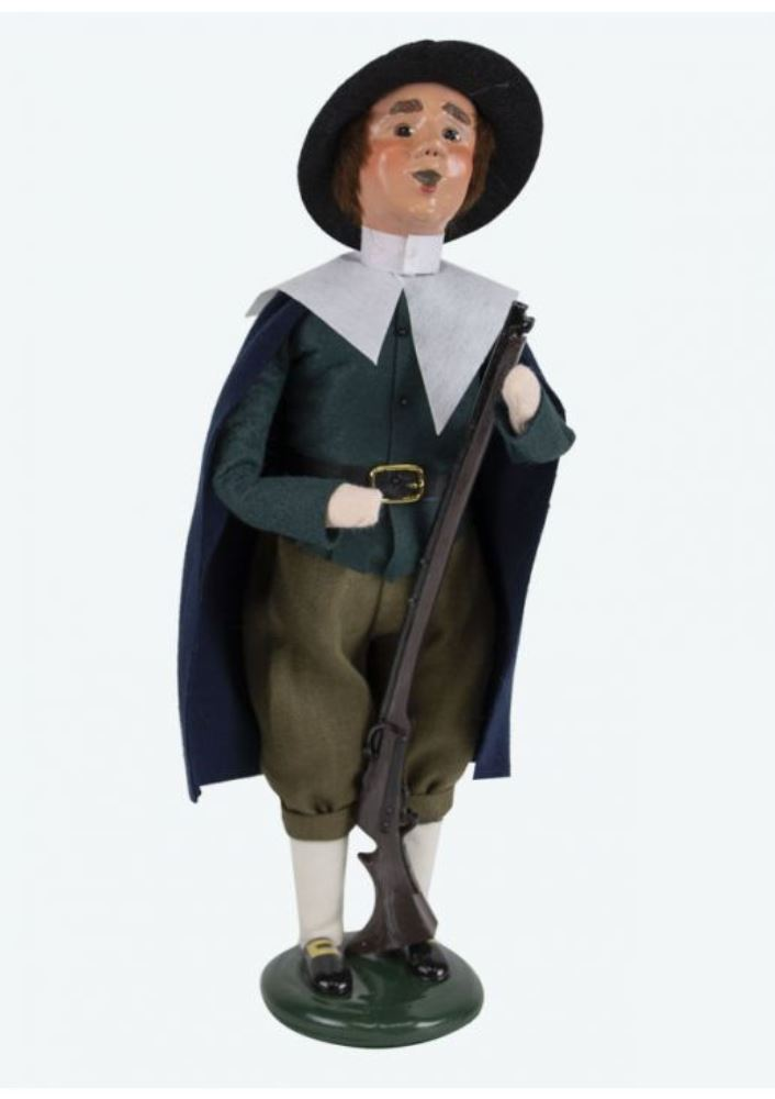Byers Choice Caroler - Pilgrim Man 2019