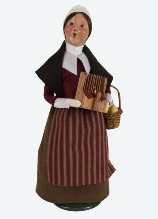 Byers Choice Caroler - Pilgrim Woman 2019