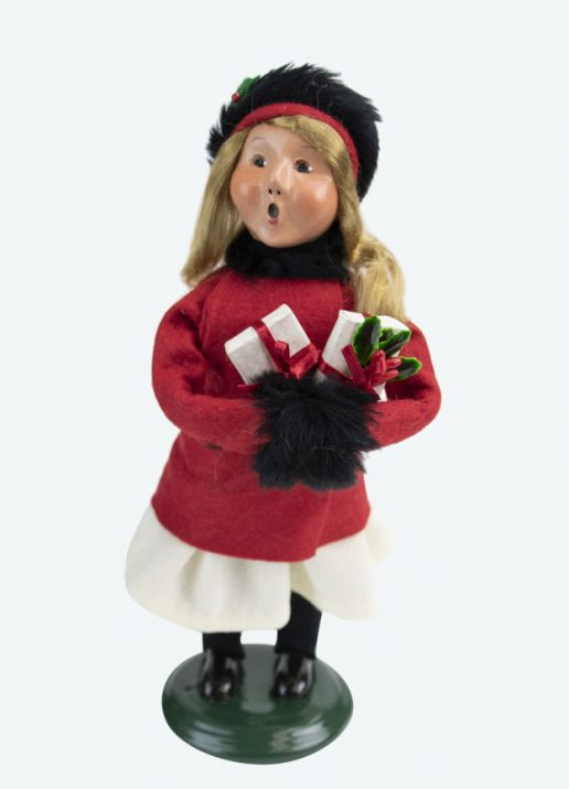 Byers Choice Caroler - Quinn Family Girl 2020