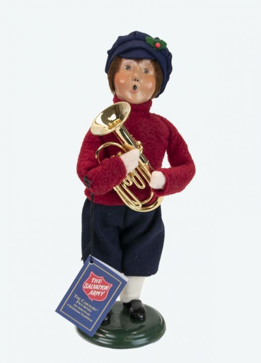 Byers Choice Caroler - Salvation Army Boy 2021