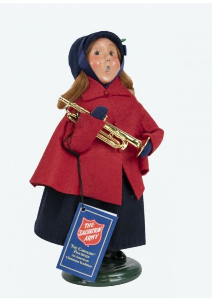 Byers Choice Caroler - Salvation Army Girl 2019