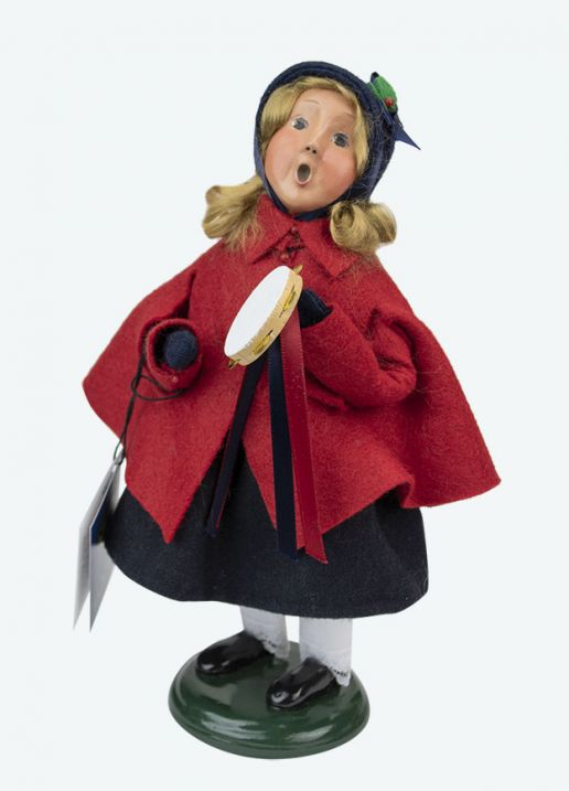 Byers Choice Caroler - Salvation Army Girl 2020