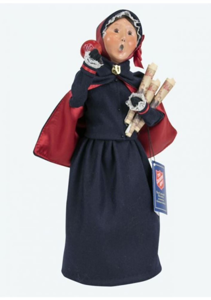 Byers Choice Caroler - Salvation Army Woman 2019