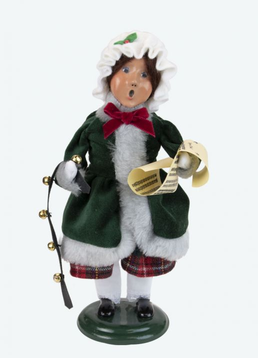 Byers Choice Caroler - Taylor Family Girl 2021