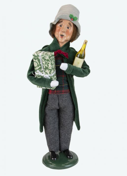 Byers Choice Caroler - Taylor Family Man 2021