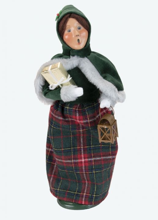 Byers Choice Caroler - Taylor Family Woman 2021