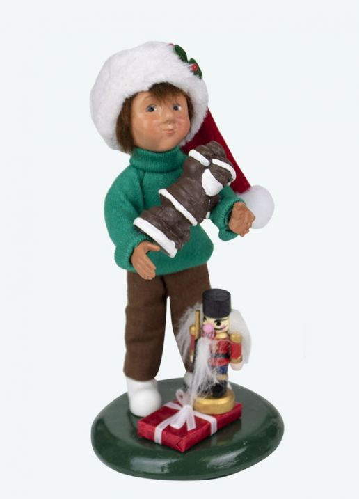 Byers Choice Caroler - Toddler with Treats 2020