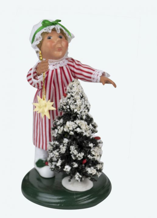 Byers Choice Caroler - Toddler with Tree 2020
