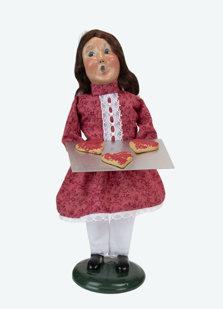 Byers Choice Caroler - Valentine Girl 2021