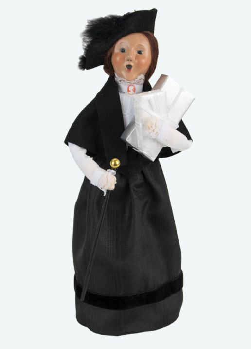 Byers Choice Caroler - Victorian Woman 2021