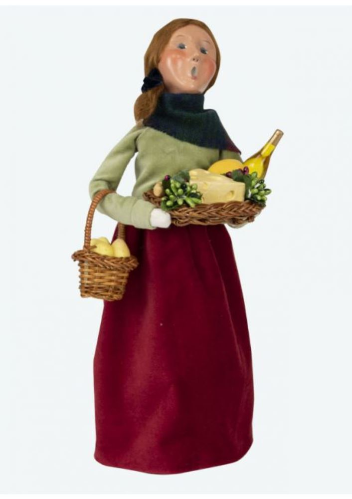 Byers Choice Caroler - Wine Hostess 2019