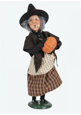 Byers Choice Caroler - Witch with Pumpkin 2019