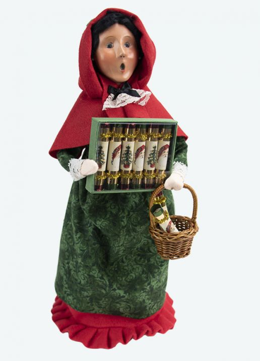 Byers Choice Caroler - Woman Cry with Crackers 2020