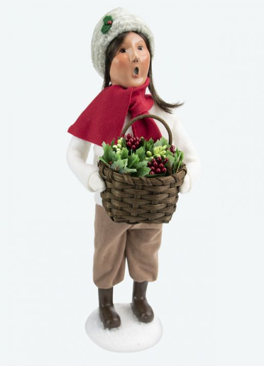 Byers Choice Caroler - Woman with Greens 2020