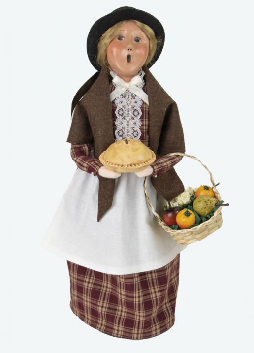 Byers Choice Caroler - Woman with Pie 2021