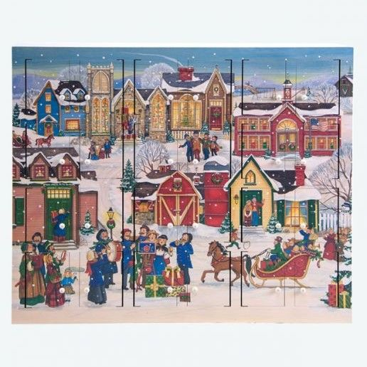 Byers Choice Advent Calendar - Christmas Village Calendar