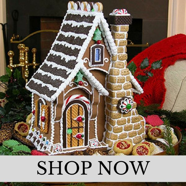 Byers Choice Gingerbread Houses
