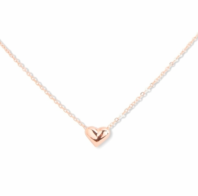 C.T. Hill Designs - Rose Gold Mini Heart Necklace