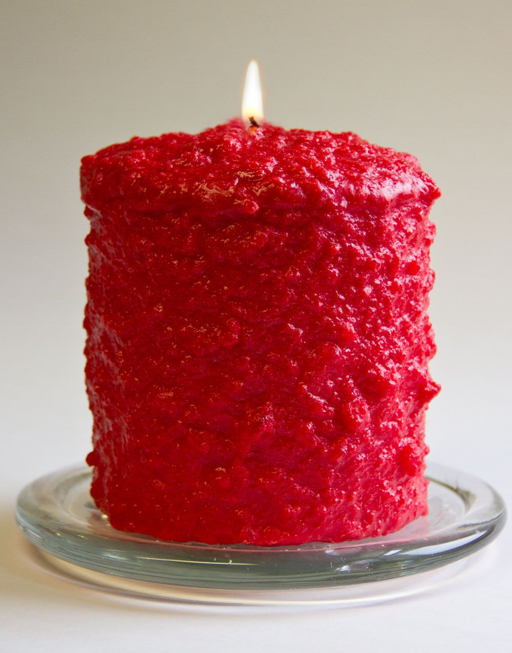 Cake Candle - Warm Glow - Apple Cinnamon - 5in x 4.5in