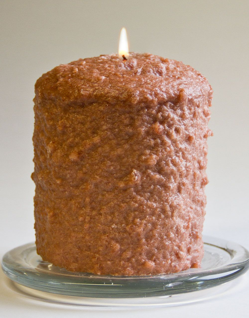 Cake Candle - Warm Glow - Caramel Coffee Cake - 5in x 4.5in