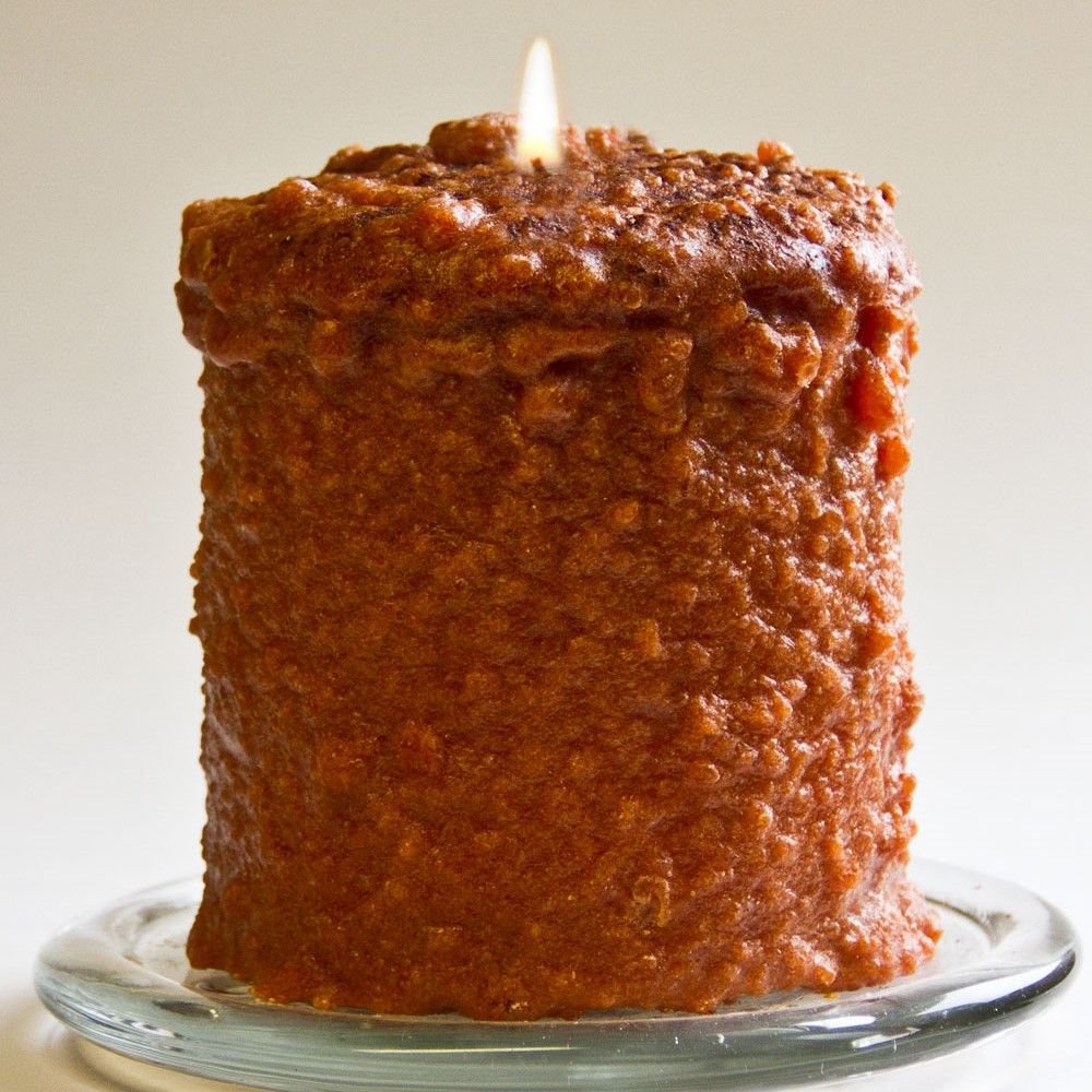 Cake Candle - Warm Glow - Cinnamon Bun - 5in x 4.5in