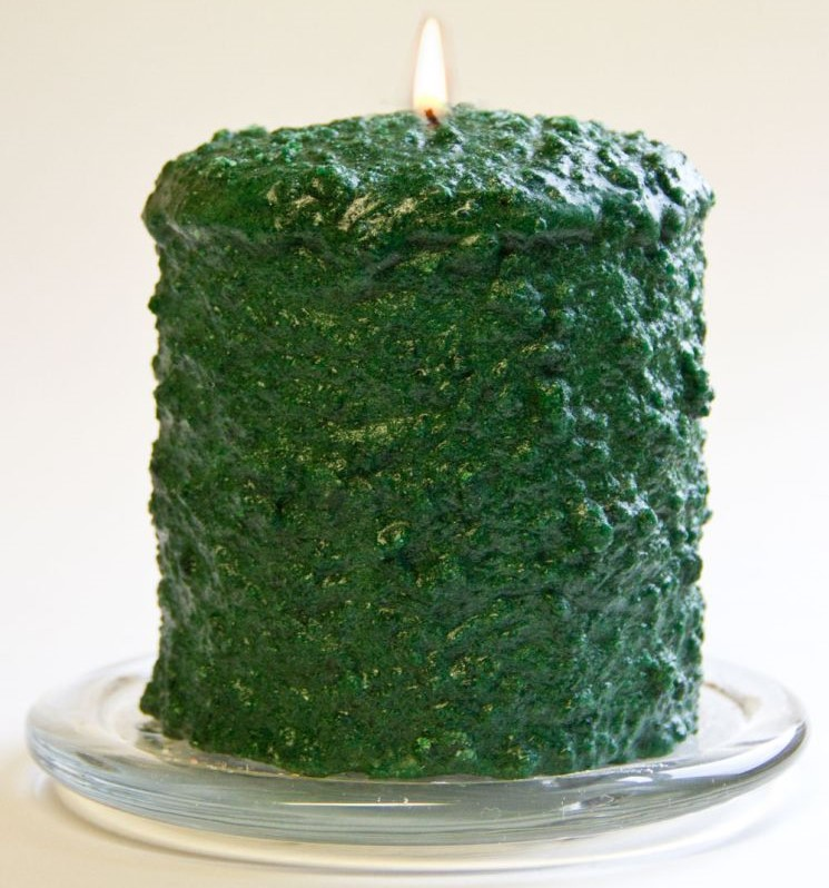 Cake Candle - Northern Pine - 5in x 4.5in