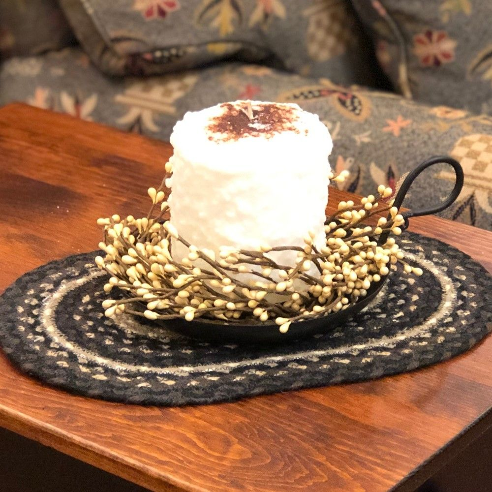 Cake Candle - Warm Glow - Snickerdoodle - 5in x 4.5in