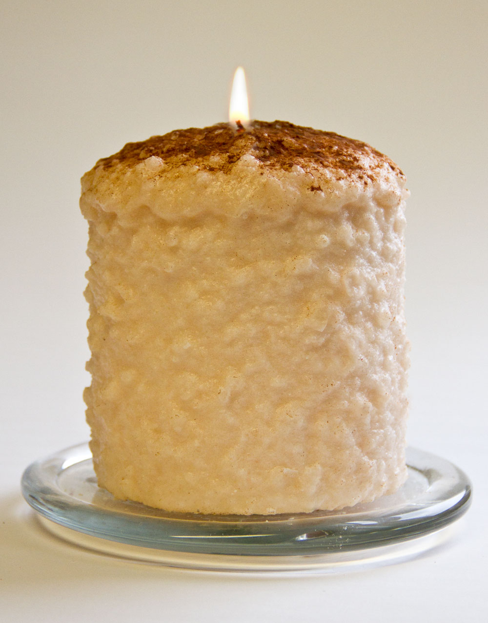 Cake Candle - Warm Glow - Vanilla Custard - 5in x 4.5in