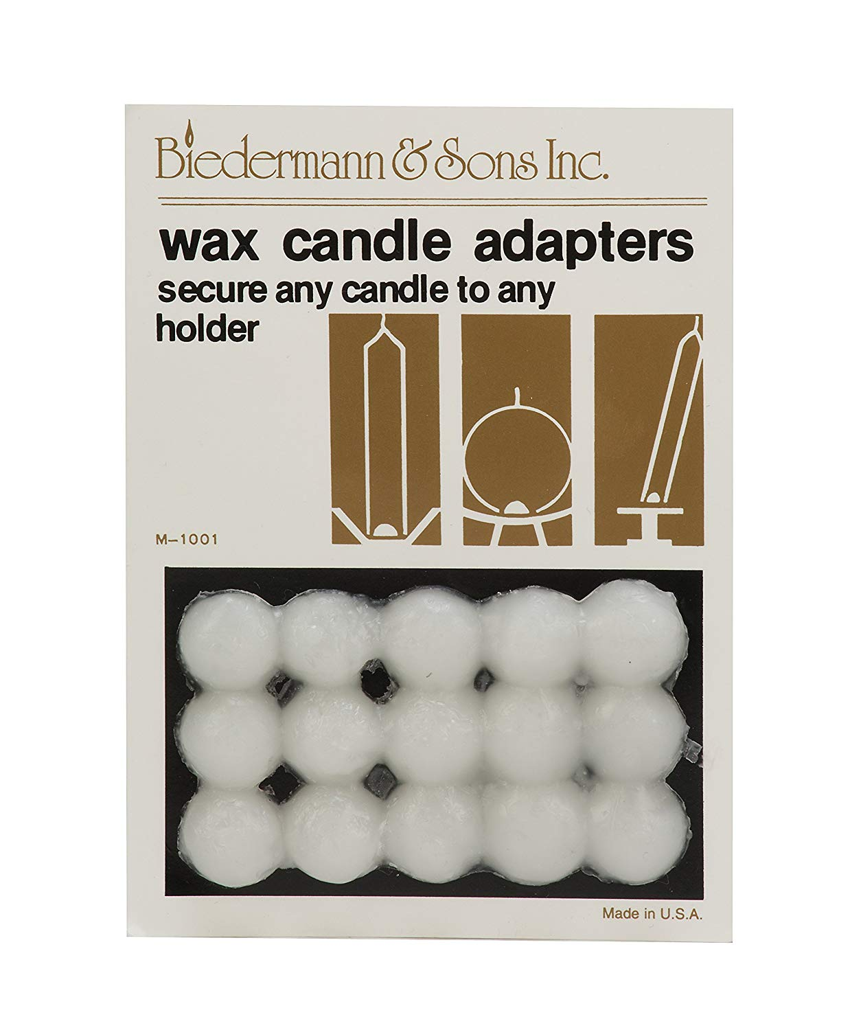 Wax Candle Adapter - Wax Candle Adhesive