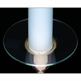 "Candle Bobeche - ""Plain Glass Bobeche"""