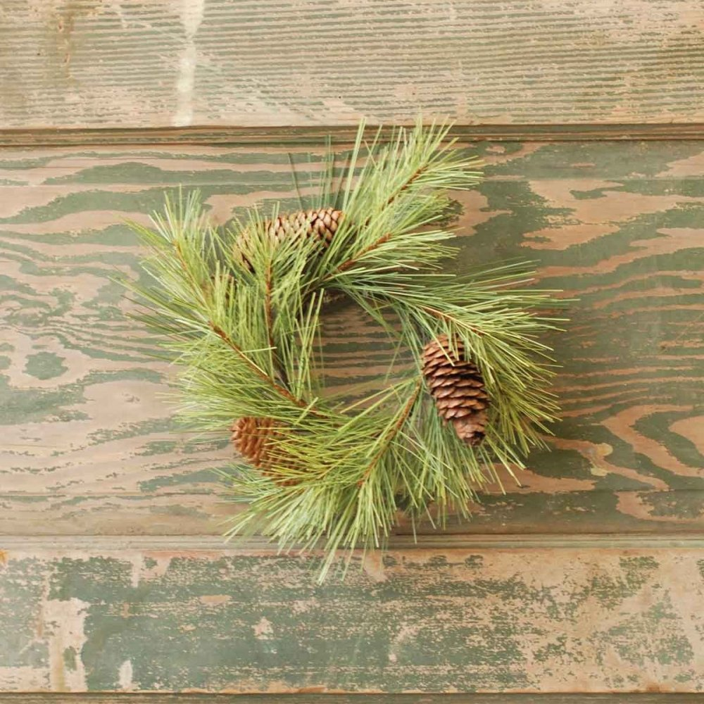 Northern Soft Pine Candle Ring - 3.5in
