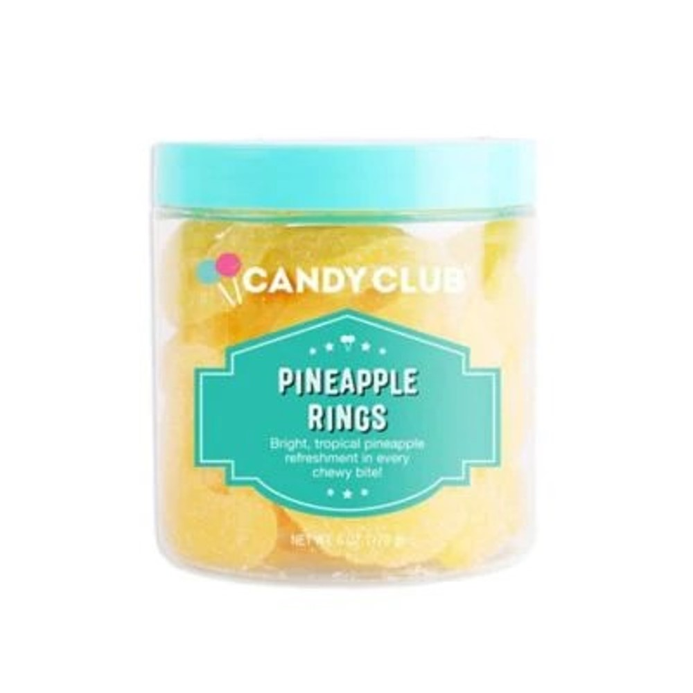 Candy Club - 6oz - Pineapple Rings