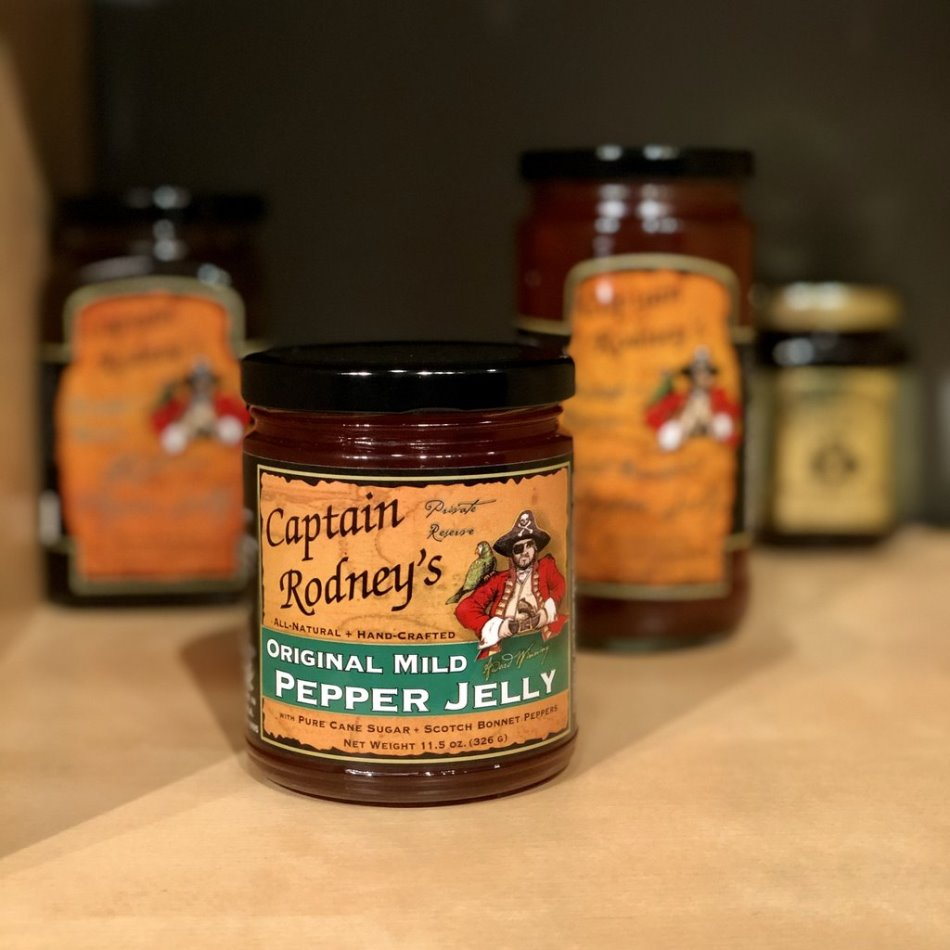 Captain Rodney's Private Reserve - Mild Pepper Jelly - 11.5oz