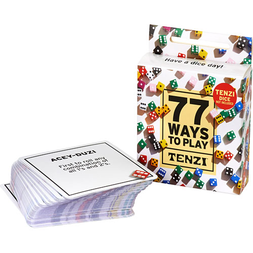 Card Deck - 77 Ways To Play TENZI